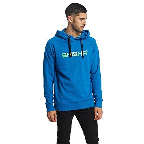 SHISHA Hooded Classic Kapuzen-Sweatshirt mykonos blau