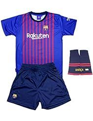 6280102e58953 Personalizador Conjunto Complet Infantil FC Barcelona Réplica Oficial  Licenciado de la Primera Equipación Temporada 2018-