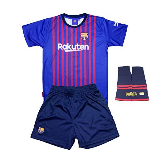 760e0906c6277 FC. Barcelona Conjunto Completo Infantil Réplica Oficial Licenciado de la  Primera Equipación Temporada 2018-