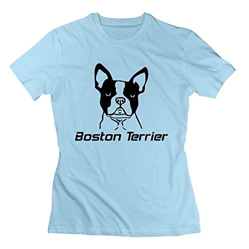 Cute Boston Terrier Womens Tshirts -