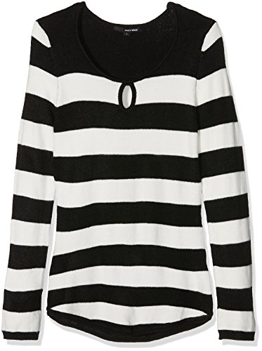 Tally Weijl Spuacloika, T-Shirt Femme Multicolore (black-off Hhaq)