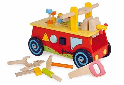 Jouetprive-Camion de motricité Bricolo
