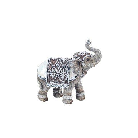 Art Deco Home - Figure Resin Elephant 11 cm - 14403SG