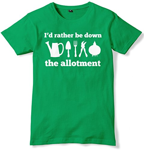 I'd Rather Be Down The Allotment...
