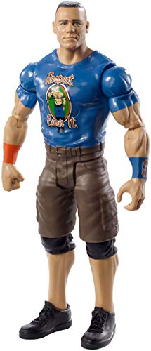 Mattel FMH90 WWE Tough Talkers Figur John Cena, 15 cm