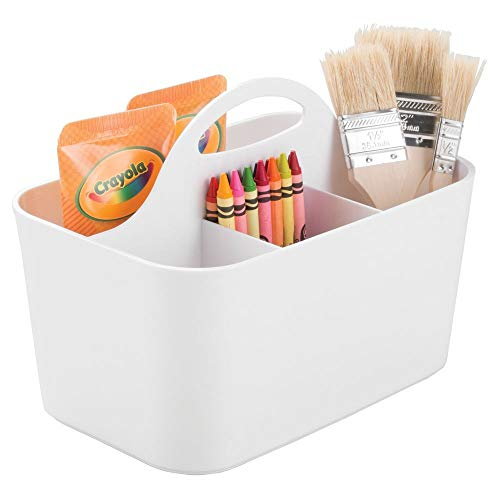 mDesign Art Supply Storage Box -...