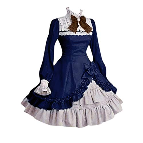 QinMM Civil Ballkleid Blumenkleid Theater Bogen Reenactment Kostüme/Abendkleid/Cosplay Kleid