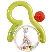 Sophie The Giraffe Fraisy Teething Rattle in Blister Pack (Green)
