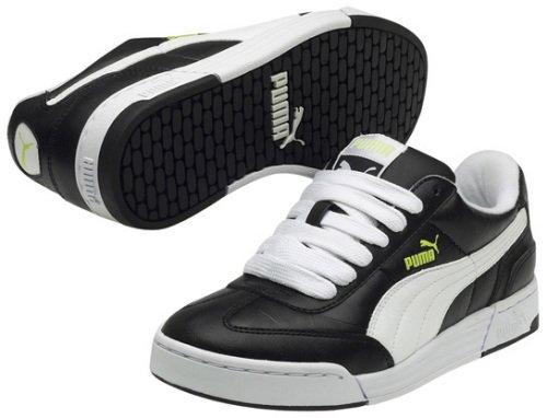 Puma Frankie 2 34983302, Baskets Mode Enfant noir - Noir