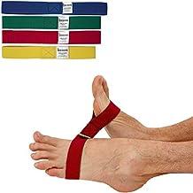 Msd ELASTICO CAVIGLIE Set 4 Resistenze ANKLECISER Riabilitazione Potenza Caviglia