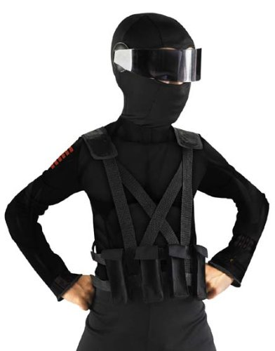 Joe I Gi Costume (GI Joe Movie Snake Eyes Child Costume Combat Vest &)