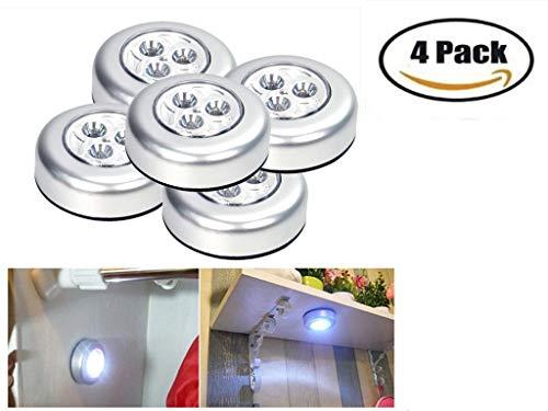 Montiert, Outdoor-licht (Setsail 4 LED Nachtlicht Pat Licht Touch Licht Indoor und Outdoor LED-Leuchten, Garten Gartenleuchten)
