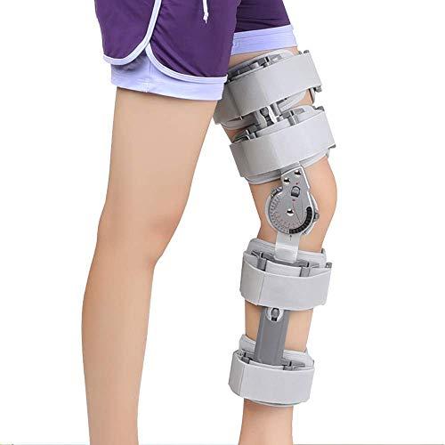 YHHX Knieorthese, gelenkiges Knie Zahnspange, Osteoarthritis Kniestütze, Scharnier Knieorthese Stabilisator für ACL, PCL, Sehnen-, Bänder- und Meniskusverletzungen für Männer und Frauen