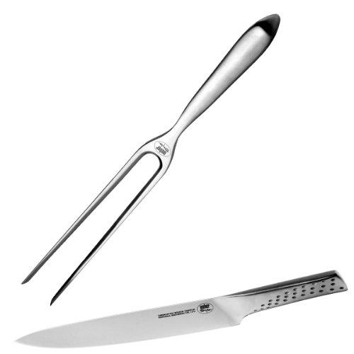Weber 17074 Couverts à découper couteau et fourchette