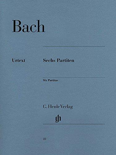 Partitas 1-6 Bwv825-830 --- Piano