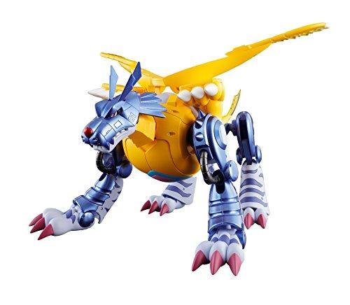 Bandai-Digimon 57556Digivolving Spirits Metal Garurumon, 15cm, 19193 (Digimon Figuren)