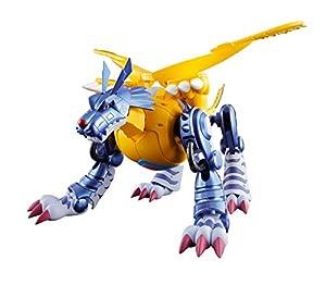 Bandai-02 Metal Garurumon Figura 13 Cm Digimon Adventure Digivolving Spirits, Multicolor, 15 cm (BDIDG191933)
