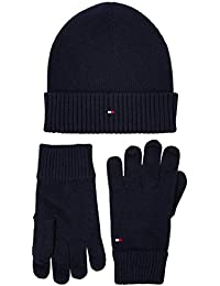 Tommy Hilfiger Pima Cotton Beanie & Gloves Gp Set di accessori invernali Uomo