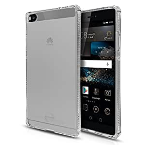 ITSKINS Cell Phone Case for Huawei P8 - Retail Packaging - Transparent
