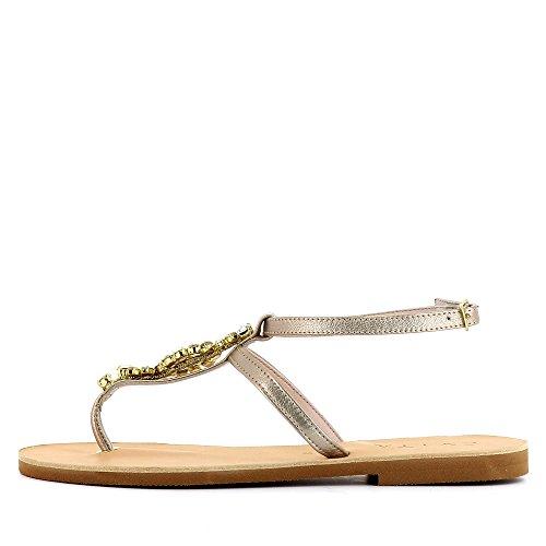 Evita Shoes Greta, Sandales Pour Femmes Beige