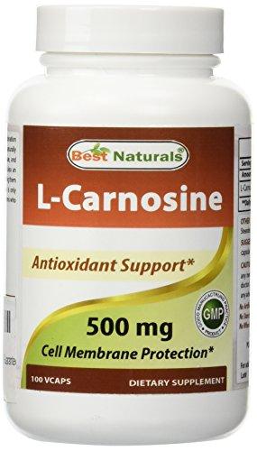 Best Naturals L-Carnosine 500 mg 100 Vcaps