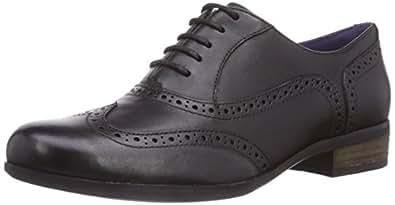 Clarks Womens Hamble Oak Brogue Black BLACK Size: 5.5