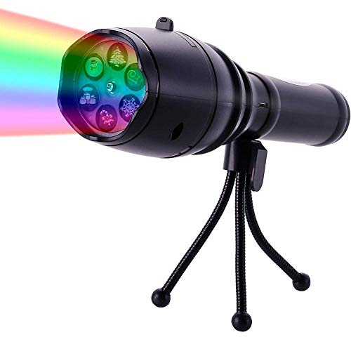 Kürbis Taschenlampe - SZRWD Projektor Taschenlampe, Kindertaschenlampe Kinderspielzeug mit
