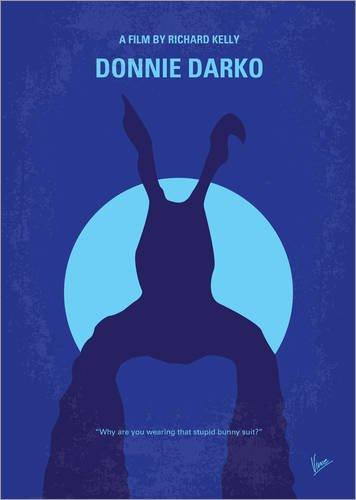 Poster 13 x 18 cm: Donnie Darko von chungkong - hochwertiger Kunstdruck, neues (Donnie Darko Kostüm Hase)