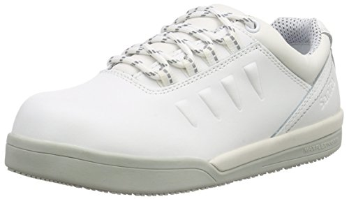 Sanita San-Chef Lace Shoe-S2, Scarpe Antinfortunistiche Unisex-Adulto, Bianco (White 1), 40 EU