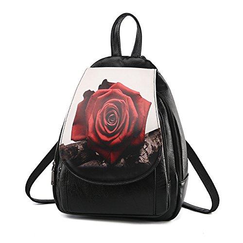 Mefly Il Nuovo Pack Di Marea Spalle Solo Di Spalla Double Rose Big rose