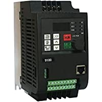 220V 2.2KW Single Phase Input 220V 3 Phase Output Frequency Converter Professional 9100-1T-00220-G 10A VFD Inverter