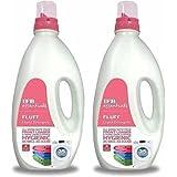 Ifb Essentials Fluff Liquid Detergent 1 liters 25 Washes Front Loader Pack Of (2)