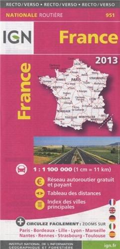 951 FRANCE RECTO/VERSO 2013 1/1M