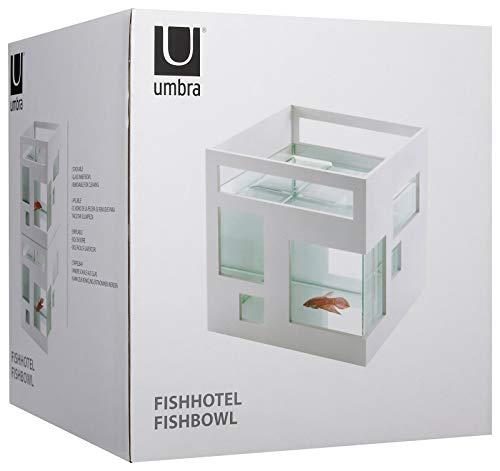 Umbra 460410-660 Fishhotel Aquarium, weiß - 3