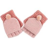 Wangcui Kinderhandschuhe für Baby Mädchen Jungen Kleinkinder Outdoor Sports Thermal Handschuhe (Farbe : C)