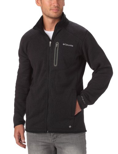 columbia-mens-altitude-aspect-full-zip-fleece-black-heather-xx-large