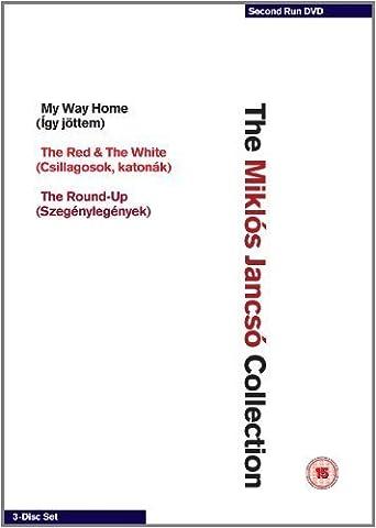 Miklós Jancsó Collection - 3-DVD Box Set ( Így jöttem / Szegénylegények / Csillagosok, katonák ) ( My Way Home / The Round-Up / The Red and the White ) [ Origine UK, Sans Langue Francaise ]