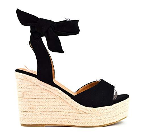 Zapatos Sandalias cuña tacón Plataforma Alta Tira