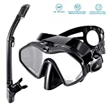SKL Snorkel Set Full Dry Snorkel Diving Mask Tempered Glass Professional Snorkeling Set