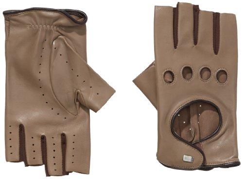Roeckl Damen Handschuhe Cool Driver, Mehrfarbig, Gr. 7, Beige (linen/mocca 177)