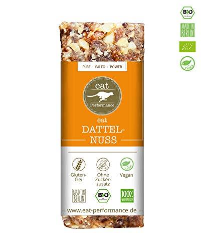 Komplette Ernährung Bar (eat Performance® Dattel Nuss Energie Riegel (40g) - Bio, Paleo, Vegan Aus 100% Natürlichen Zutaten)
