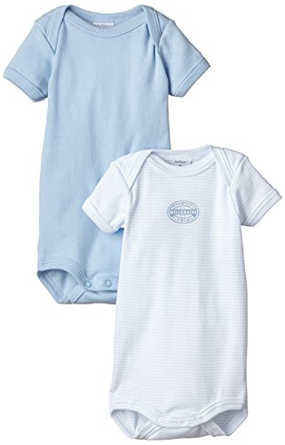 Petit Bateau Baby-Jungen Body Lot 2P MC, 2er Pack, Blau (Special 00), 62 (Herstellergröße: 3m/60cm)