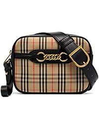 Burberry Women s 8007350 Black Cotton Travel Bag cc6e2f81b1ea6