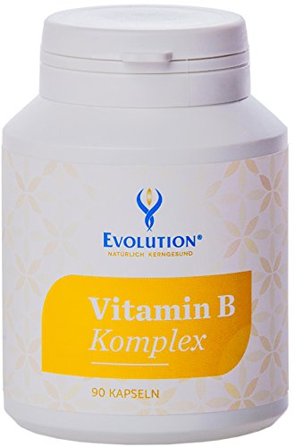 Evolution Vitamin B Komplex Kapseln 90St. - B-komplex 90 Kapseln