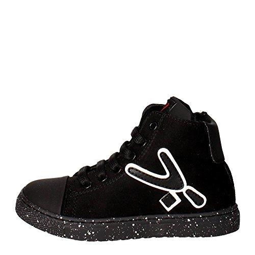 Snappy 462.01 Sneakers Bambino Microfibra Nero Nero 26