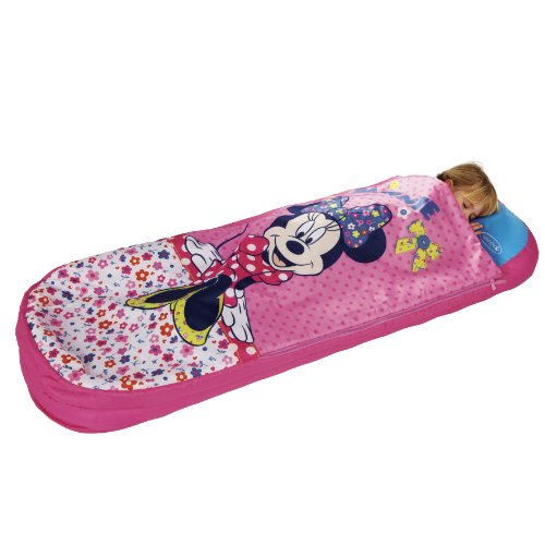 Worlds Apart Minnie Mouse – Junior-ReadyBed – Kinder-Schlafsack und Luftbett in einem - 5