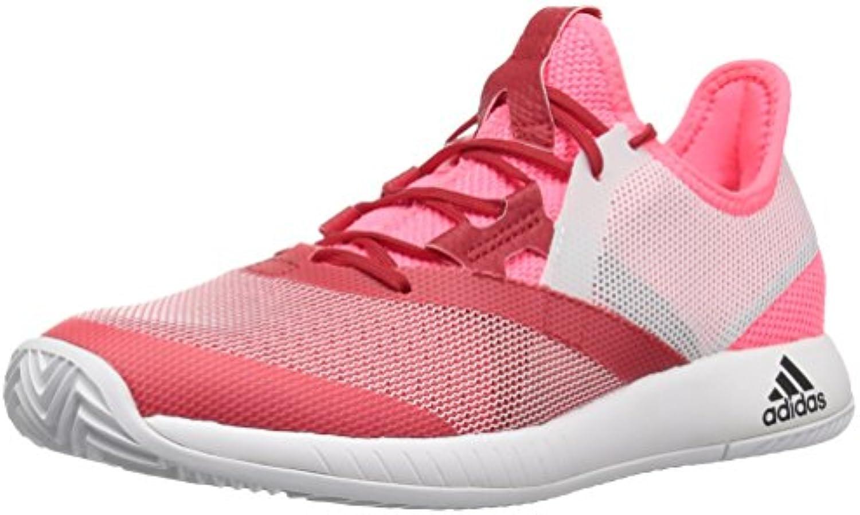 Adidas Wouomo Adizero Defiant Bounce Tennis scarpe, Flash rosso bianca Scarlet, 8 M US   Nuove Varietà Vengono Introdotti Uno Dopo L'altro    Uomini/Donna Scarpa