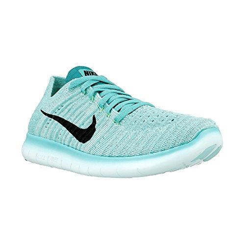 Nike Damen Free Rn Flyknit Laufschuhe, Türkis
