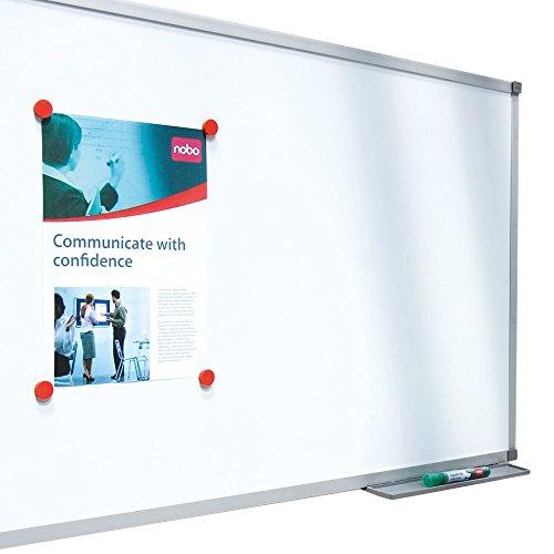 Best Price Nobo Basic Steel Whiteboard, Magnetic – Large (1500 x 1000 mm), Aluminium Trim Review
