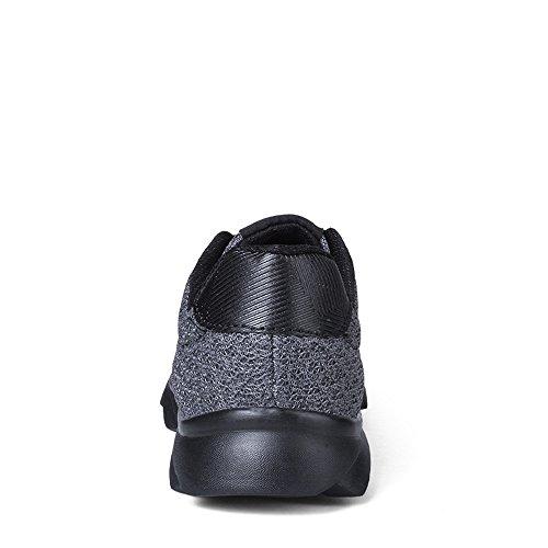Brkvalit Baskets Basses Athlétiques Pour Hommes Chaussure Classique Gris Sneaker